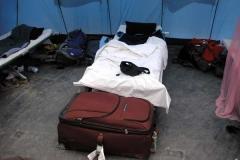 Inside tent 600