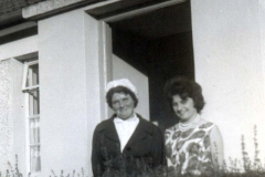 Mrs Dwan and Mary 1962 800
