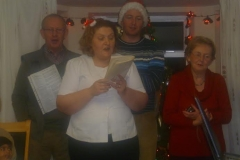 Staff join in the festivities