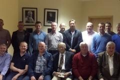 Borris-ileigh U16 County champions 1991 team and management