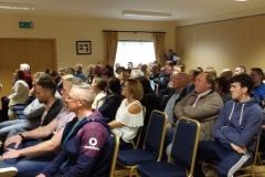 crowd at presentation